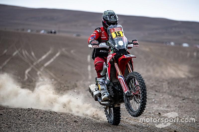 Brabec vence 4º estágio e assume liderança nas motos