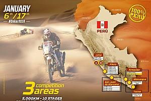 Dakar: presentato il percorso completo dell'edizione 2019 che si svolgerà tutto in Perù