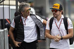 Kubica trabaja con el fisio de Alonso
