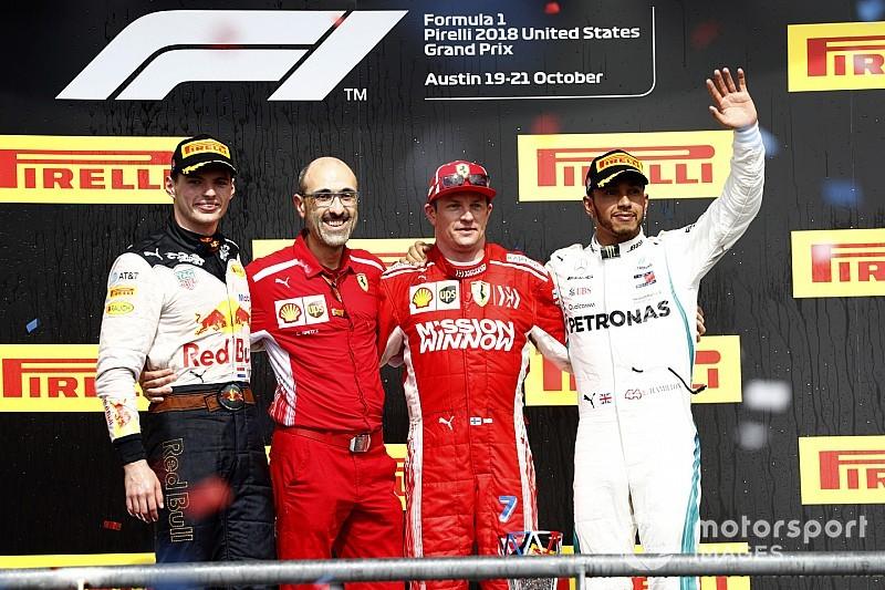 Гран Прі США: Райкконен здобув першу перемогу за останні п'ять років
