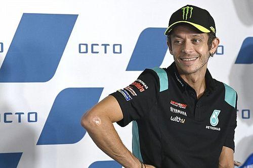 Rossi onthult speciale helm voor laatste GP van San Marino