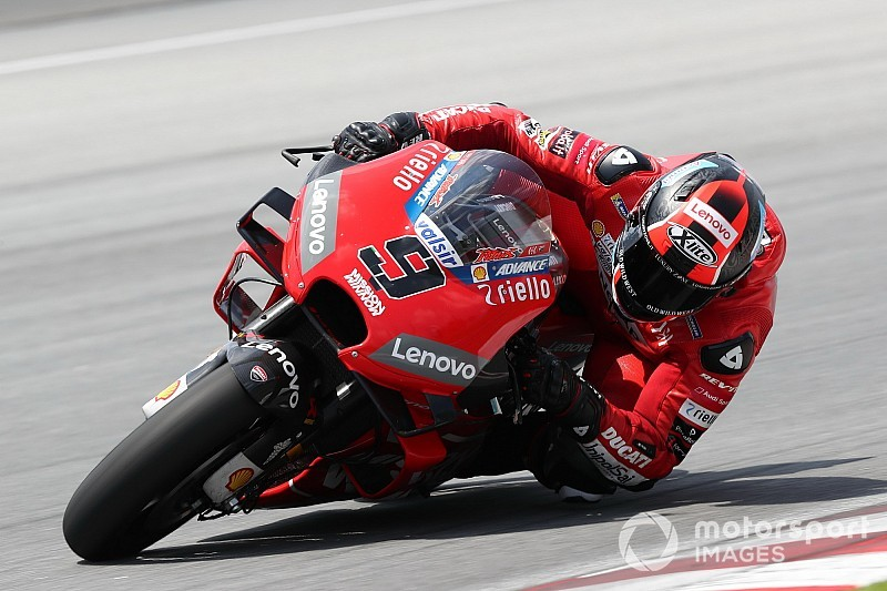 Petrucci leads Ducati 1-2-3-4 as Sepang test concludes