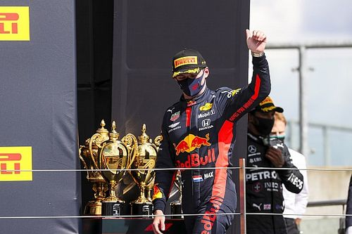 """Verstappen feels """"lucky and unlucky"""" after last-lap dramas"""