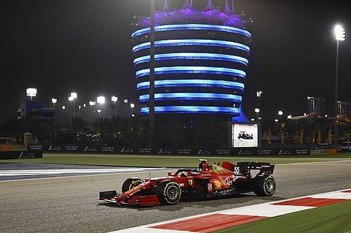 ساينز كان حذرًا أكثر من اللازم خلال لفاته الأولى مع فيراري في سباق البحرين