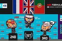 Vídeo: la carrera 2 de Fórmula E en Diriyah, por los Minis