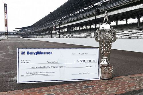 Sato could land $380,000 jackpot for back-to-back Indy 500 win