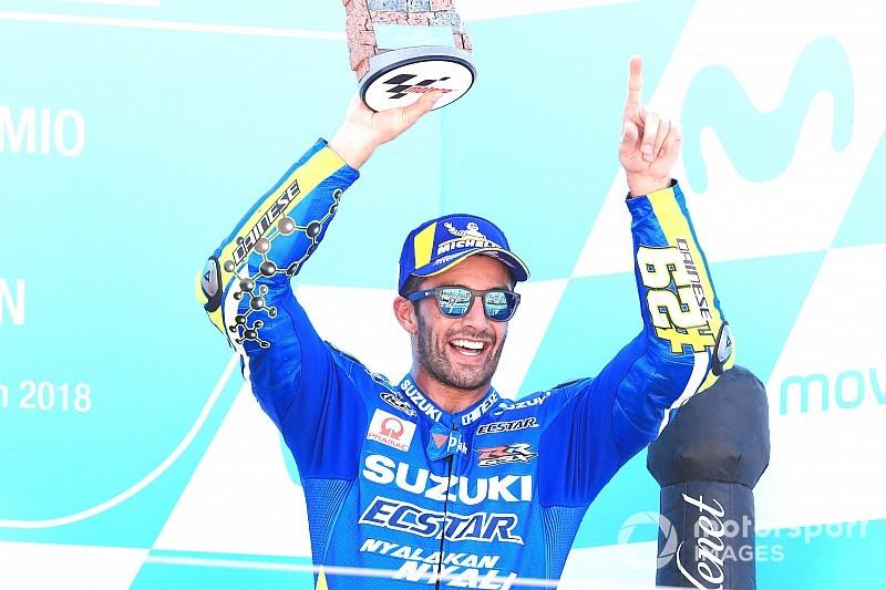 Iannone s'inspire des réglages de Rins et retrouve le podium