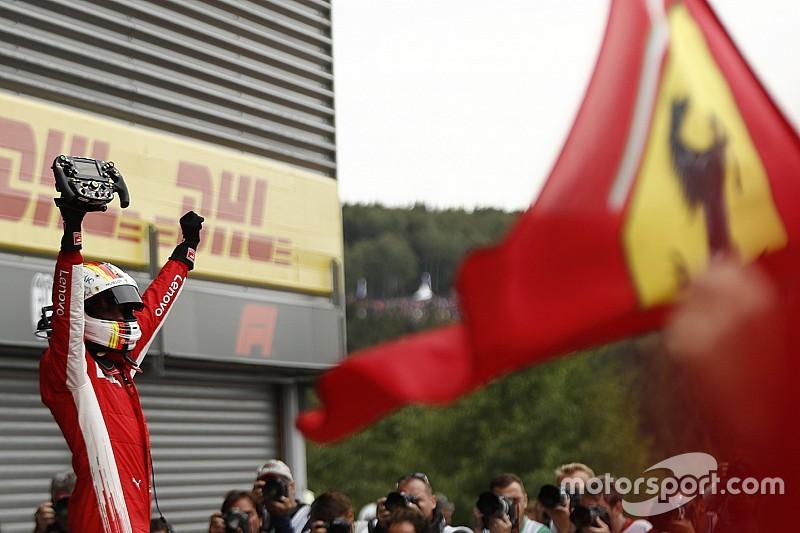 """Vettel: """"Ik wist dat ik heuvelop mijn kans zou krijgen"""""""