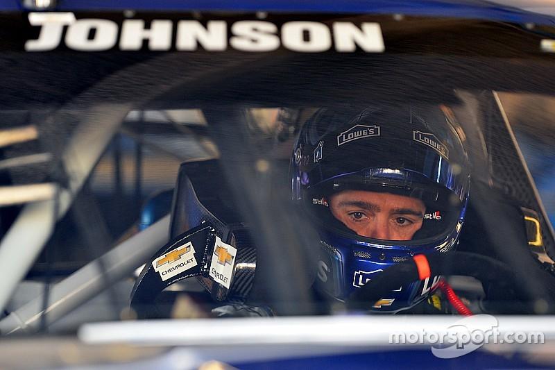 Jimmie Johnson leads morning test at Las Vegas