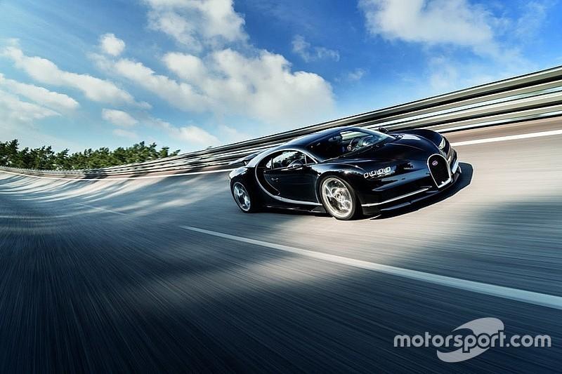 Bugatti ziet vooralsnog niets in cabrioversie Chiron