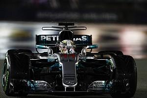 F1 速報ニュース シンガポールGP 決勝速報:ハミルトン、8台リタイアの波乱レースを制す
