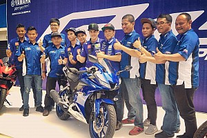ARRC Breaking news Vinales ramaikan launching Yamaha Racing Indonesia
