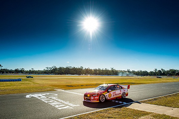 Supercars Ipswich Supercars: McLaughlin scorches to 11th season pole
