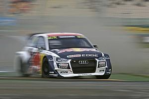 World Rallycross Résumé de course Audi fait trébucher les Polo sur piste humide