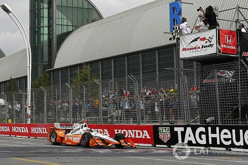 Newgarden supera Rossi y vence en Toronto; Gutiérrez termina en 14