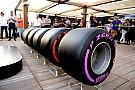 Los Pirelli de reserva serán similares a los de 2016