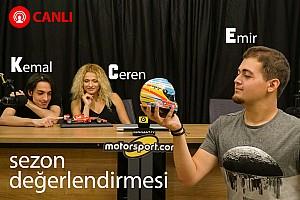 GENEL Özel Haber Motorsport.com Türkiye 2017 sezonunu canlı yayında değerlendiriyor