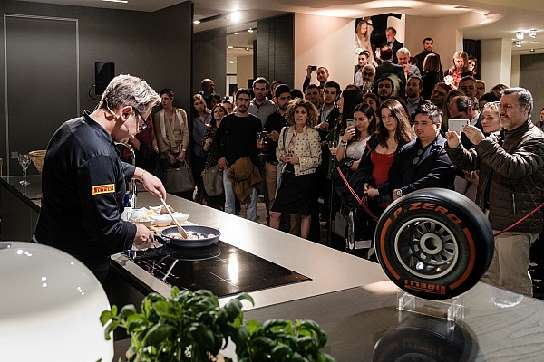 Pirelli a 300 all'ora anche in cucina nel Miles&Meals Cooking Show