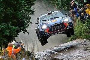 WRC Resumen de la etapa Neuville finaliza el viernes al frente en Polonia