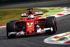 F1 Noticias de última hora Vettel admite que no tiene confianza tras el primer día en Monza