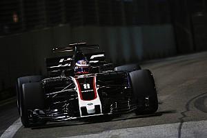 Formula 1 Son dakika Haas, Singapur'daki sorunların tek seferlik olmasını umuyor