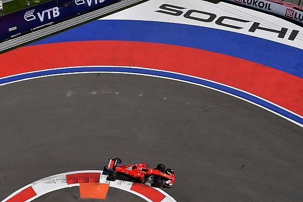 F1 练习赛报告 俄罗斯大奖赛FP2:法拉利统治圈速榜