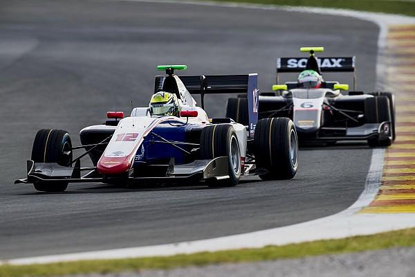 Boccolacci empieza en cabeza los test de la GP3 en Valencia