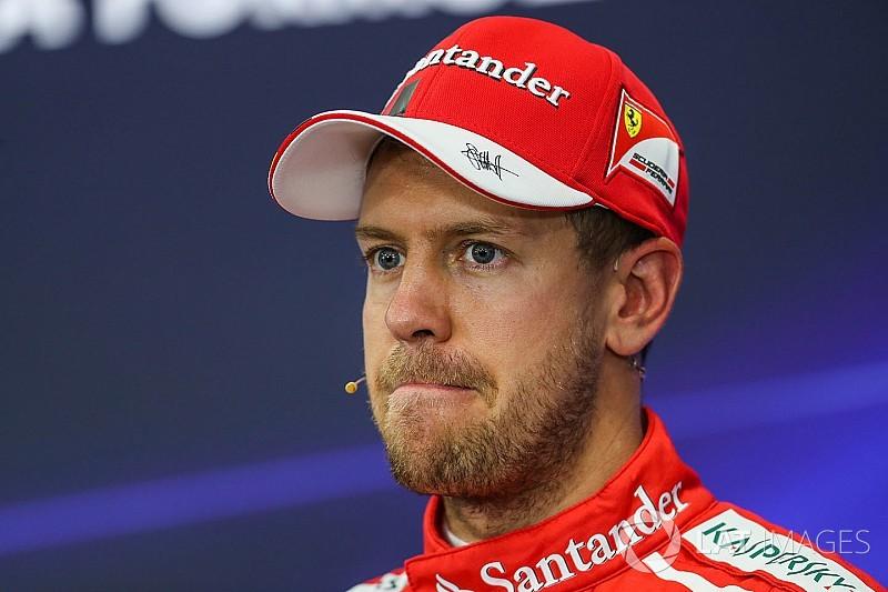 Vettel victime d'un problème de bougie à Suzuka