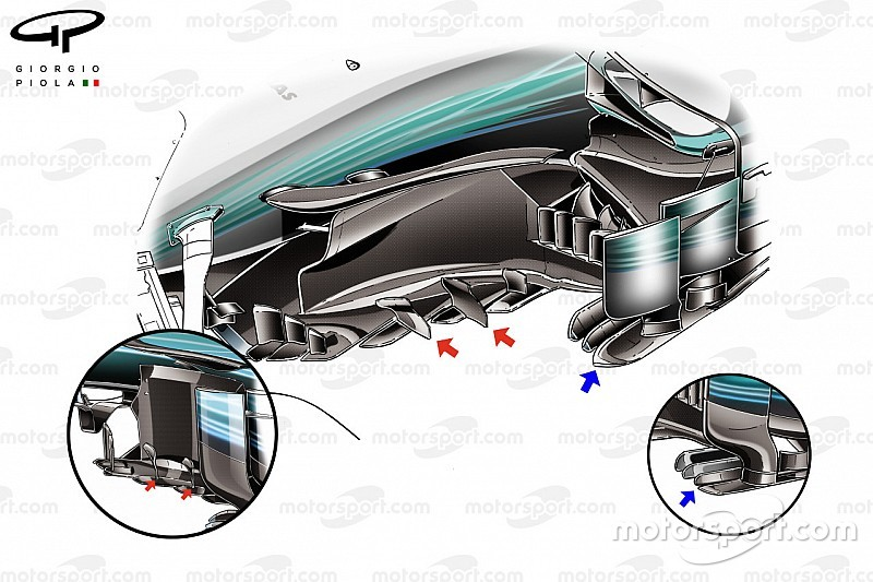 "F1-Technik: Wie Mercedes die ""Diva"" F1 W08 in Japan gezähmt hat"