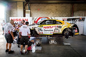 Endurance Breaking news Crashed Nissan repaired in time for Bathurst qualifying
