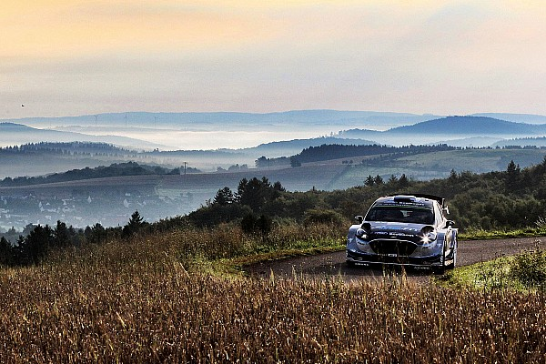 WRC-Rallye Deutschland: Ford-Pilot Ott Tänak siegt