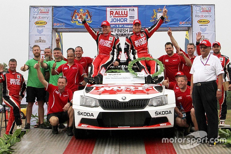 Malaysia APRC: Veiby takes easy win, Gill finishes second