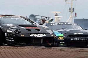 Automotive Breaking news Lamborghini vs. GT-R in Battledrift - video