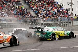 DTM Son dakika Paffett, Rockenfeller ile yaptığı kazada 38G kuvvete maruz kalmış