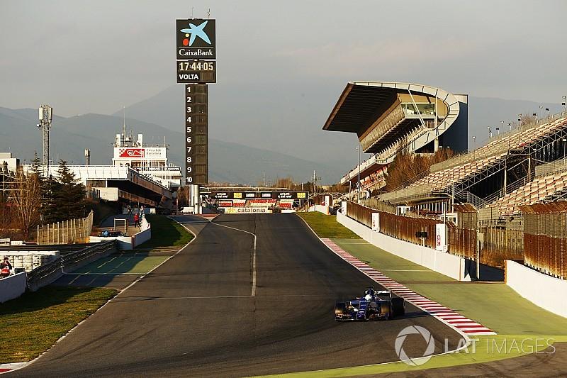Графік роботи гонщиків Ф1 на тестах у Барселоні