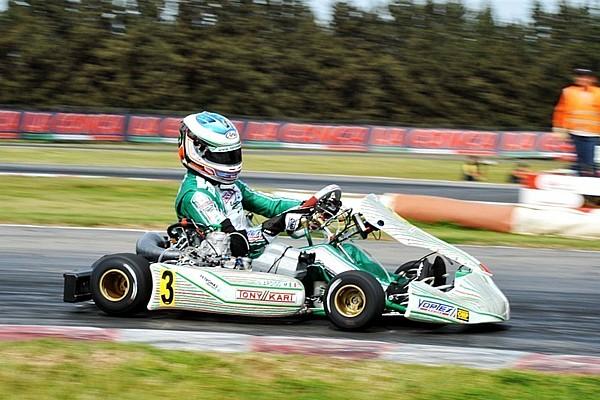 Ardigo wint eerste race EK KZ, Nederlanders sterk