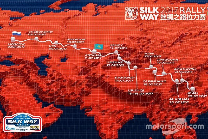 В Москве представили маршрут ралли-рейда «Шелковый путь»-2017