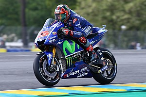 MotoGP Qualifyingbericht MotoGP 2017 in Le Mans: 3 Mal Yamaha in Startreihe 1