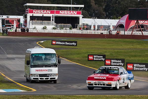 Supercars Сафари по-японски. Nissan устроила аттракцион для болельщиков