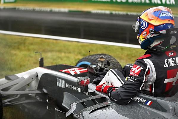 Grosjean dice que la clasificación no debería haber comenzado