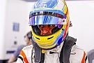 Alonso en piste à Indianapolis début mai