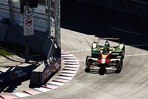 Formula E Jelentés a versenyről Buemi rögtön a rajtnál elszállt az FE második montréali futamán, di Grassi a bajnok!