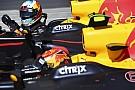 Verstappen, temas için Ricciardo'dan özür diledi