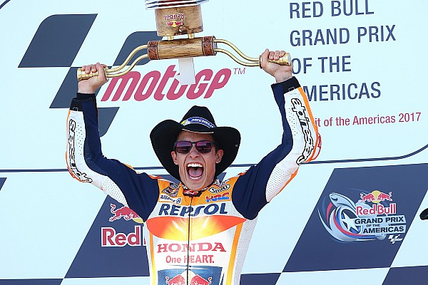 MotoGP Reporte de la carrera Márquez gana en Austin y Rossi se coloca líder del mundial