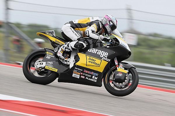 Moto2 Aegerter im Stich gelassen, Raffin knapp an den Punkten