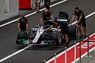 Hamilton en désaccord avec Mercedes pour l'aéro à Suzuka