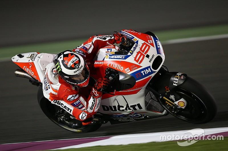 """Lorenzo: """"Posiblemente, Dovizioso vaya más rápido que yo"""""""