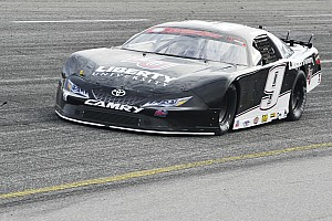 Stock car Qualifying report Byron wins pole for Snowball Derby in final race with KBM