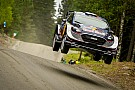 Ogier hits trouble in Finland