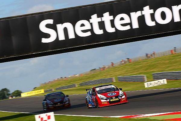 BTCC Snetterton BTCC: Eurotech Honda's Goff scores maiden pole